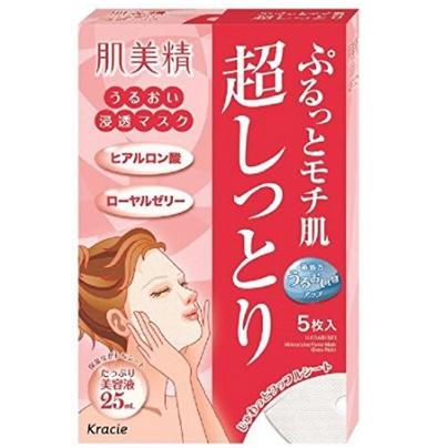 嘉娜宝 肌美精玻尿酸超保湿面膜 (5片装)