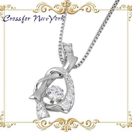 女士银项链 Crossfor NewYorkPromise 礼品