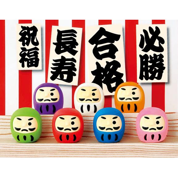 日本Iwako橡皮擦 仿真橡皮 开运不倒翁 ER-DAL001