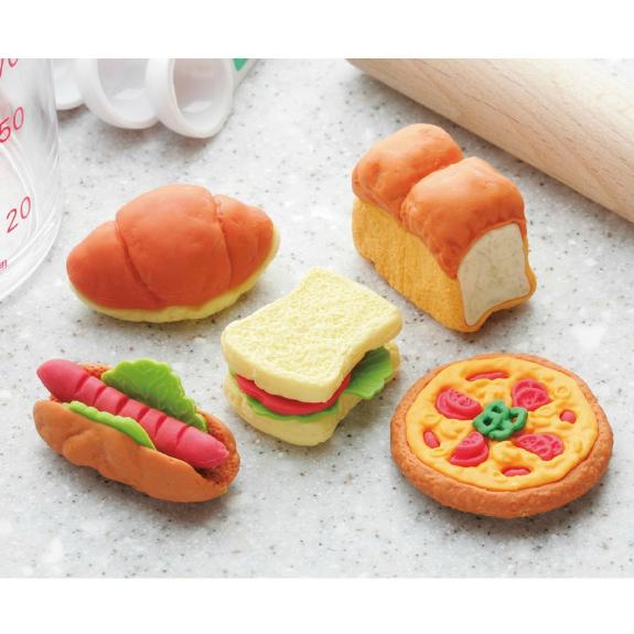 日本Iwako趣味橡皮擦 面包造型 ER-PAN002