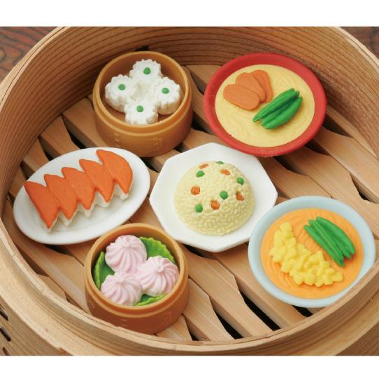 日本Iwako趣味橡皮擦 中国菜套餐造型 ER-CHI001