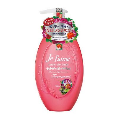 KOSE高丝 Jelaime 无硅护发素 红色瓶 500ml