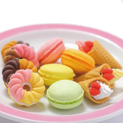 日本Iwako趣味橡皮擦 甜点造型 ER-SWI001