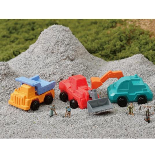 日本Iwako趣味橡皮擦 建设车造型 ER-KEN001
