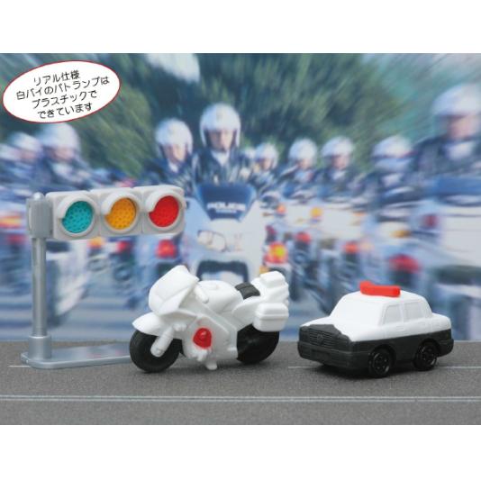 日本Iwako趣味橡皮擦 警用车辆 信号灯 ER-POR001