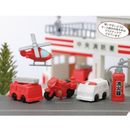 日本Iwako趣味橡皮擦 消防系列 ER-SHB001