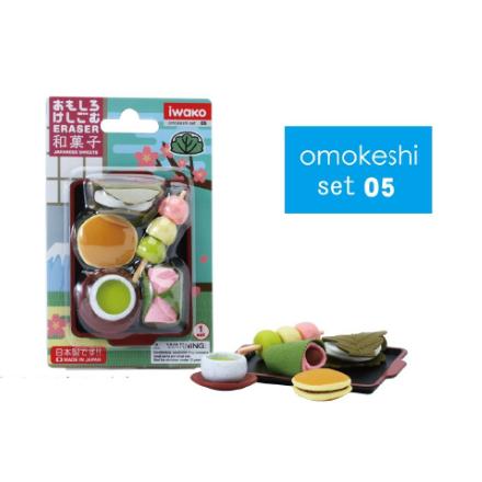 日本Iwako趣味橡皮擦 日式点心系列 泡罩包装 ER-BRI009