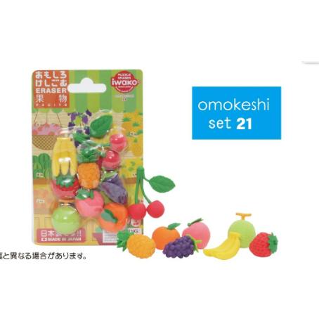 日本Iwako趣味橡皮擦 水果系列 泡罩包装 ER-BRI024