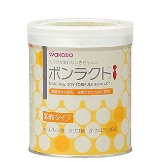 日本 和光堂wakodo 婴儿豆奶粉 大豆蛋白粉360g 防腹泻/湿疹 抗过敏