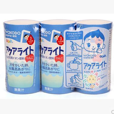 日本 和光堂wakodo 苹果味电解质水  离子水饮料