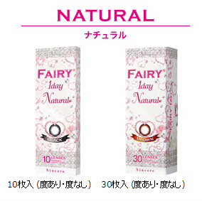 日本Fairy Natural  ワンデー 30枚入 (日抛)