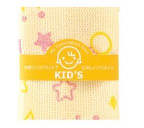 日本 儿童毛巾B351 批发 柔软舒服 呵护肌肤 可爱美观