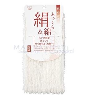 日本 优质正品 天然丝绵毛巾B540W 柔软护肤 天然质感