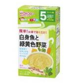 日本 和光堂 母婴用品 辅食料理   妈妈帮手白身鱼蔬菜泥