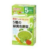 日本 和光堂 母婴辅食 妈妈帮手黄绿色蔬菜泥