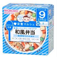 和光堂 日本 主食料理 鸡肉+鱼肉便当套餐 方便健康
