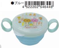 日本 Monseuil 婴儿点心碗  蓝色 4522202546446