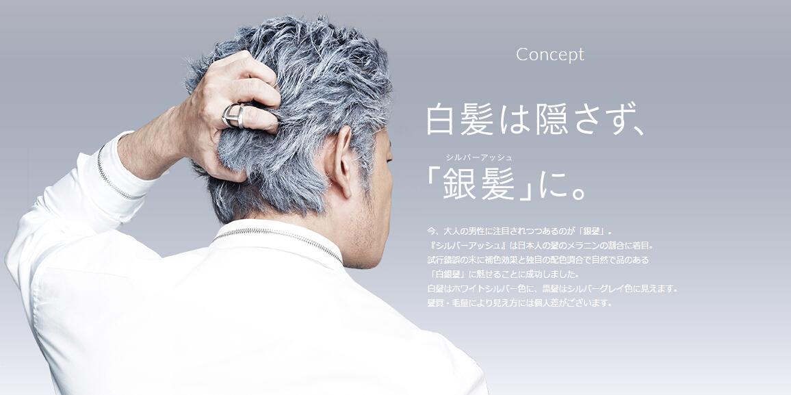 日本silver ash 银色发蜡 奶奶灰发泥一次性染发膏 男士女士定型 一瓶