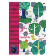 日本 Monseuil  A4文件夹  森林图案 4522202804676