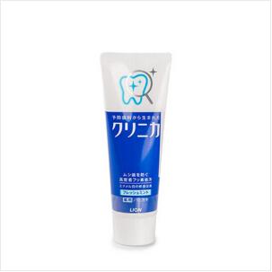 狮王(Lion)CLINICA酵素洁净立式牙膏(超强薄荷)130g